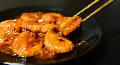 Garlic Shrimp Dish