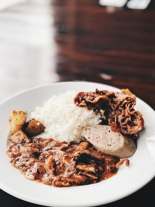 Immagine gratuita di cibo filippino, pancetta, riso, sardine