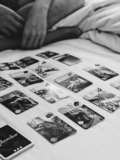 Immagine gratuita di gioco di carte, splendore