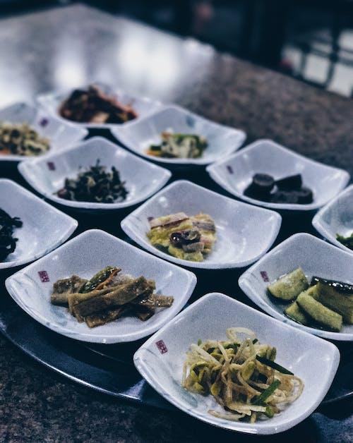 대한민국, 반찬, 저녁 식사, 한국 음식의 무료 스톡 사진