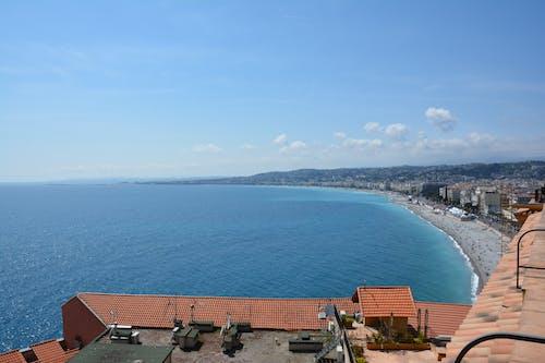 Free stock photo of beach shore, blue sea