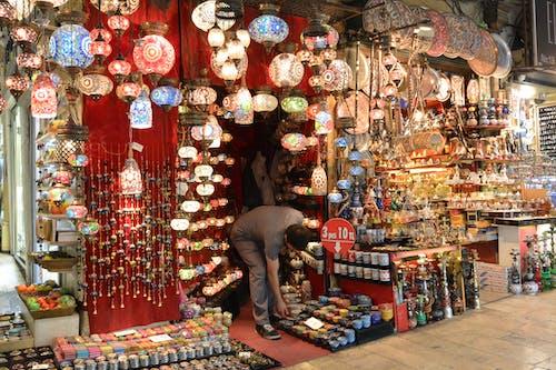 Free stock photo of bazaar, souk