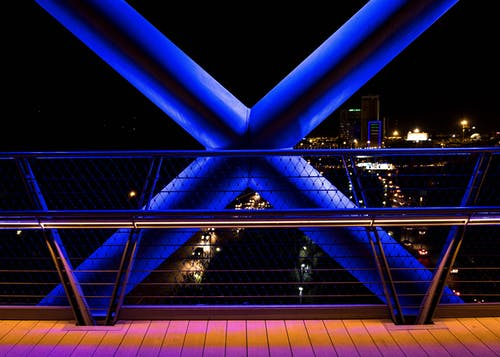 Kostnadsfri bild av natt, stad, stadsljus