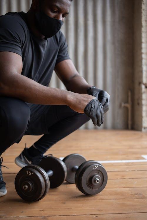 Безкоштовне стокове фото на тему «covid, активний, афроамериканський чоловік»