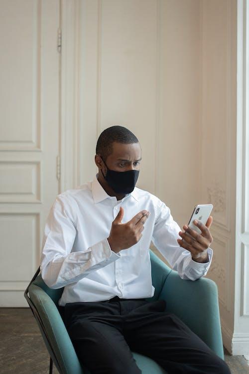 Безкоштовне стокове фото на тему «covid, covid19, афроамериканський чоловік»
