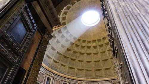 Free stock photo of art, light, monument, pantheon