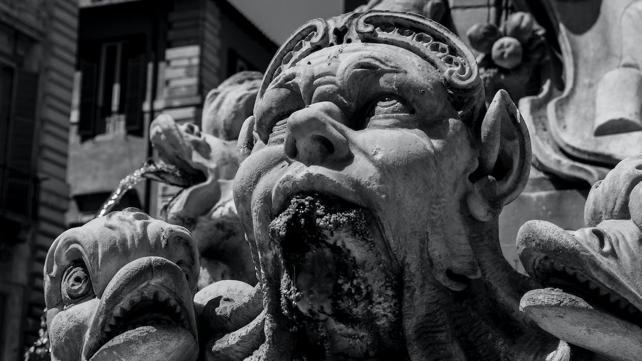 기념물, 로마, 블랙 앤 화이트