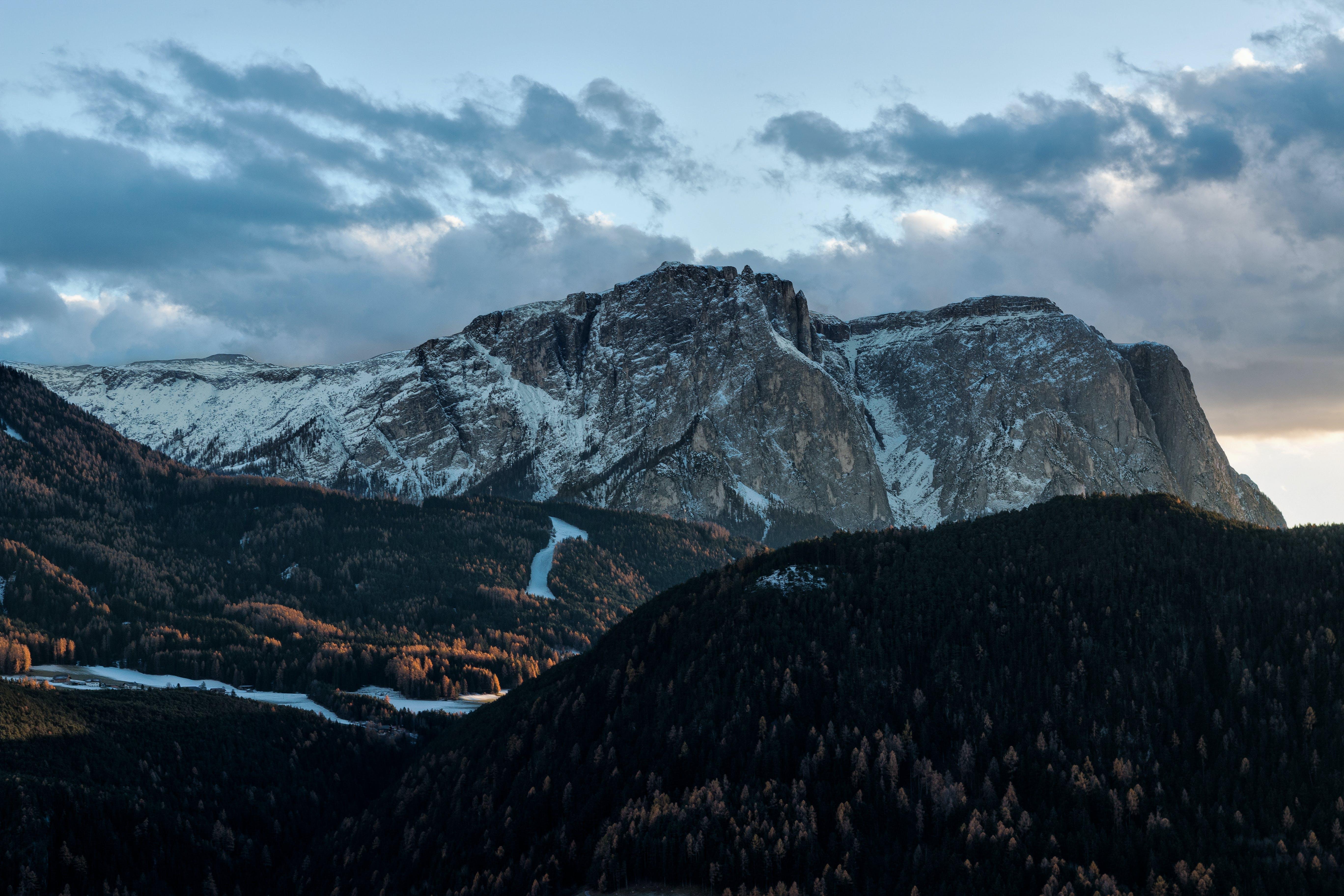 Kostenloses Stock Foto zu berge, dämmerung, felsiger berg, hd wallpaper
