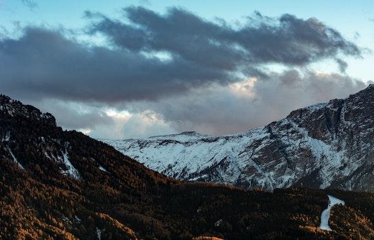 Free stock photo of mountains, nature, autumn, HD wallpaper