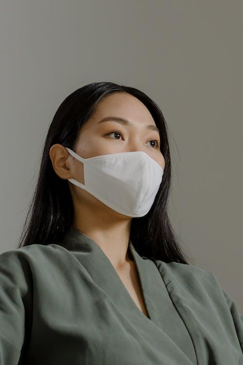 アジア人, インドア, フェイスマスクの無料の写真素材