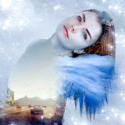 Безкоштовне стокове фото на тему «Дівчина, крутий, подвійний вплив»