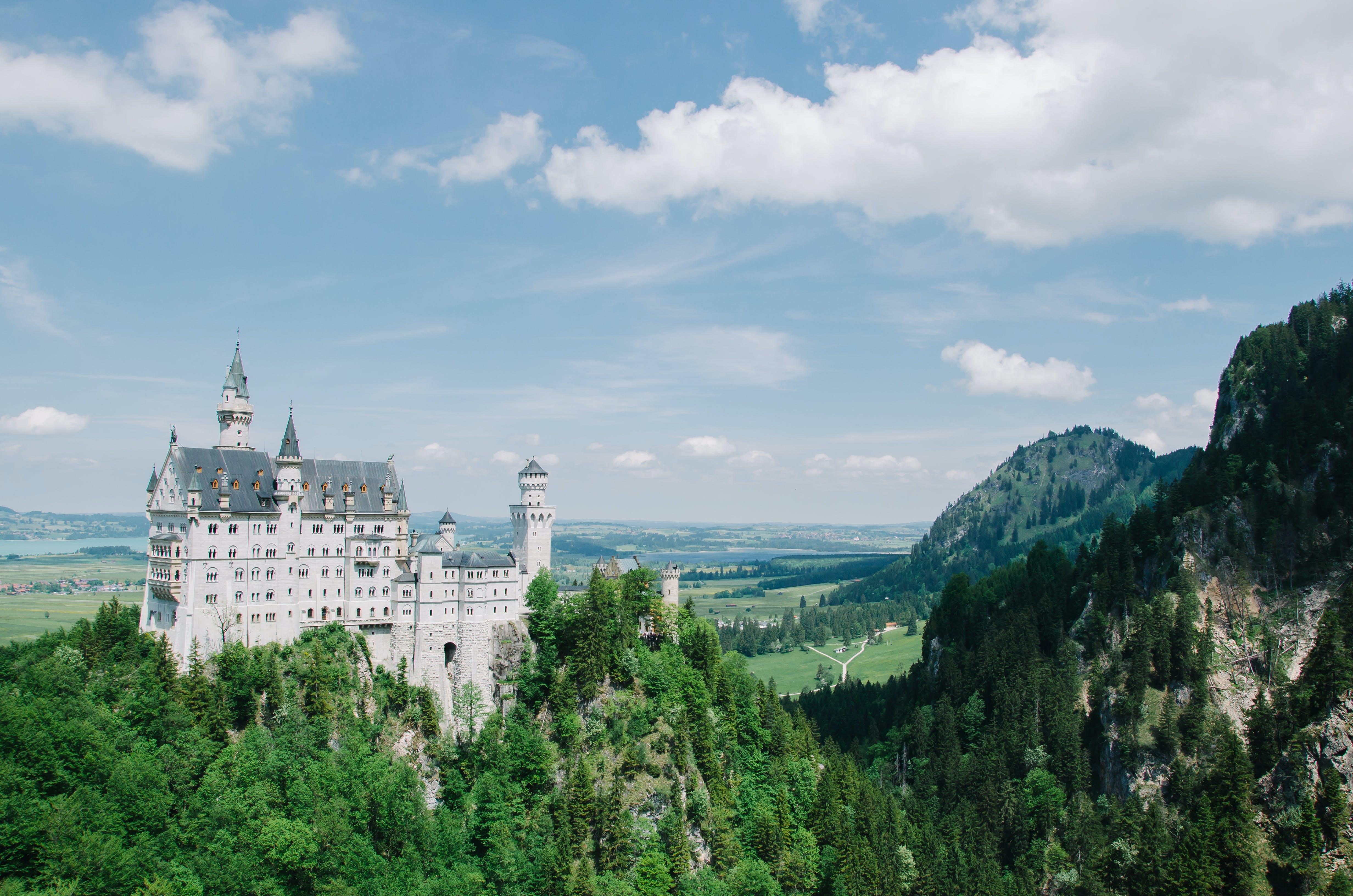 Gratis lagerfoto af Bayern, borg, Neuschwanstein-slottet, palads