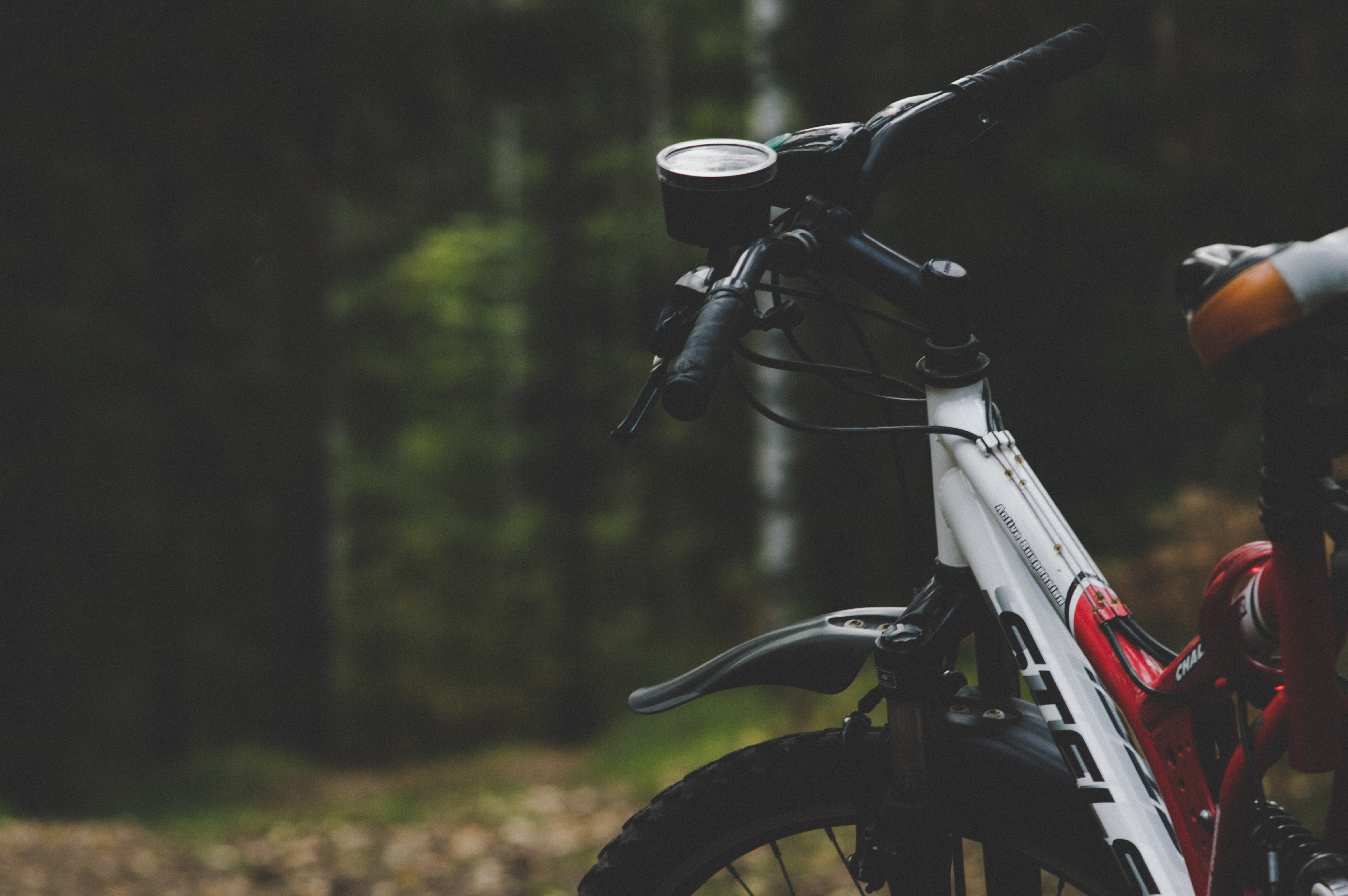 Selective Focus Photography Of Mountain Bike