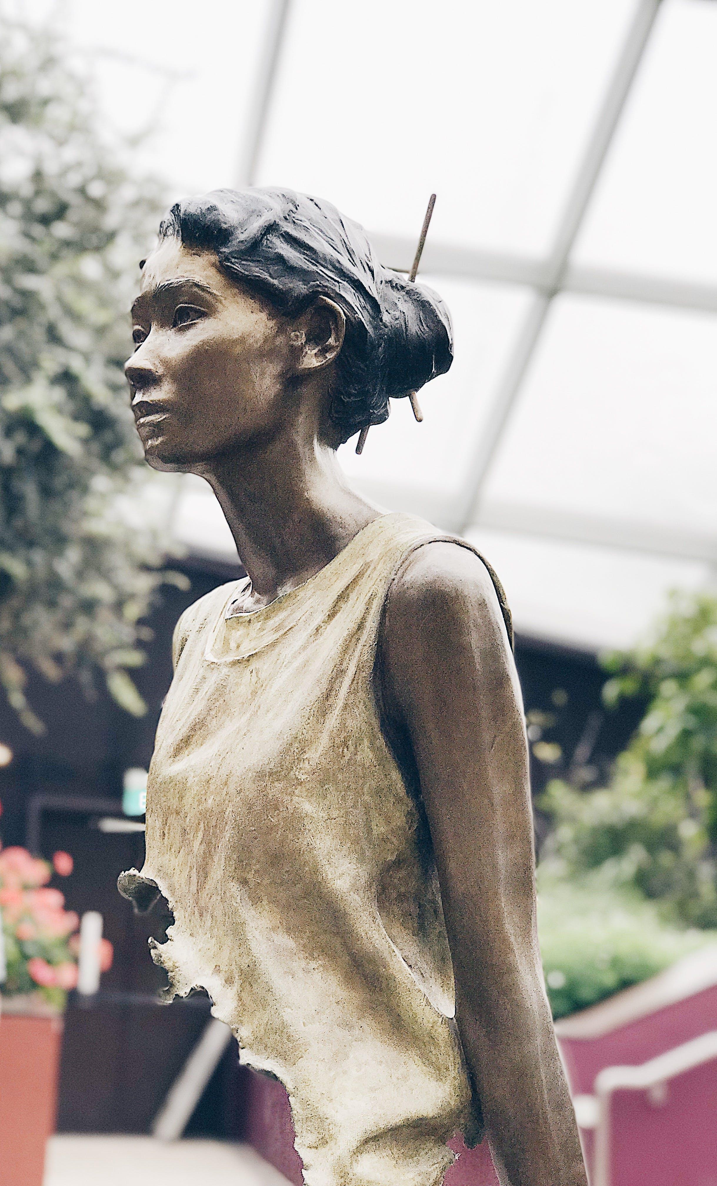 Free stock photo of Asian, bust, sculpture, sculptures