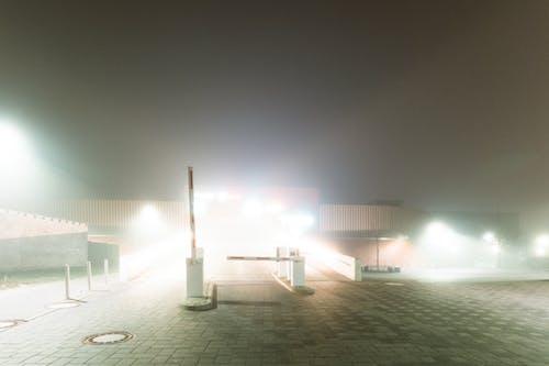 Immagine gratuita di fogg denso, illuminato, lampada