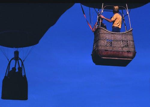 シルエット, ロープ, 交通機関, 人の無料の写真素材