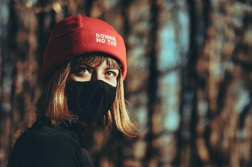 Free stock photo of blonde girl, determination, eyes