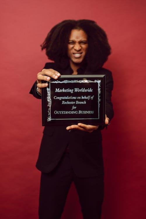 Foto d'estoc gratuïta de aconseguir, afroamericà, assoliment