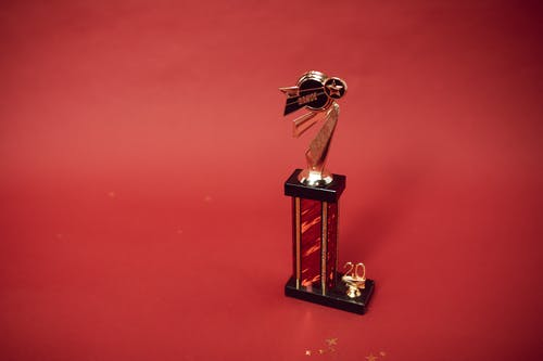 A Trophy For the Winner of a Dance Contest