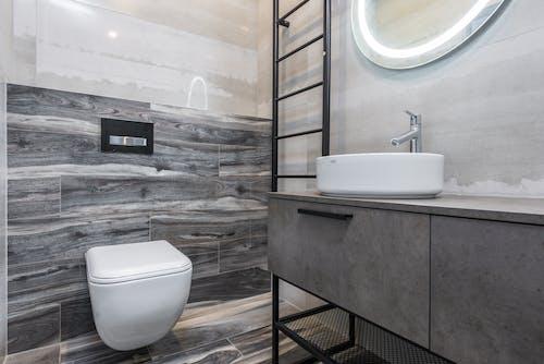 White Ceramic Sink Beside White Ceramic Sink