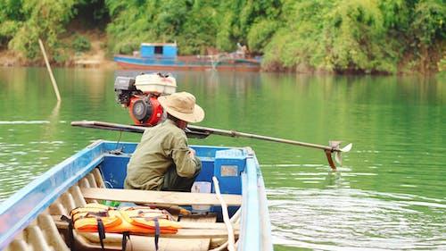 Бесплатное стоковое фото с активный отдых, весло, вода