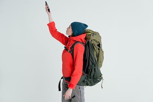 Fotos de stock gratuitas de caminante, excursionista, mochila