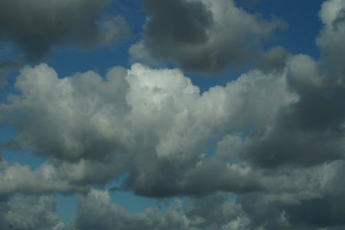 Free stock photo of cloud, sky blue