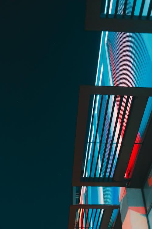 Kostenloses Stock Foto zu abstrakt, architektur, beleuchtung