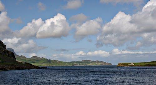 Gratis lagerfoto af blå hav, himmel baggrund