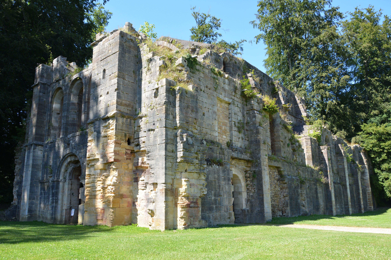 Free stock photo of abandoned, abbey, blue sky, church