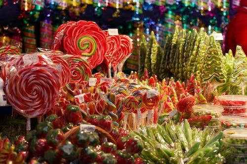 圣诞市场, 圣诞糖果, 市場, 聖誕 的 免费素材照片