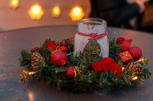 Free stock photo of candle, christmas, christmas decor, christmas decorations