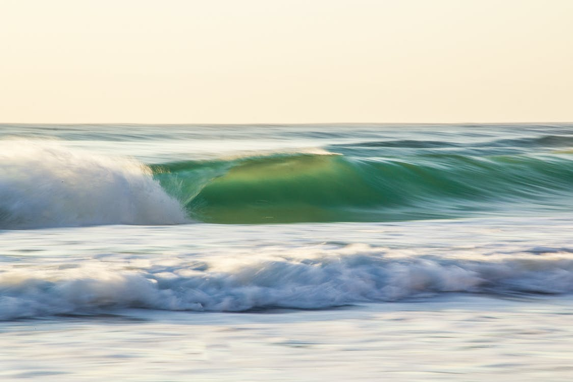 aallot, epäselvä liike, epätarkka