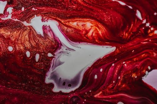 Kostenloses Stock Foto zu abstrakt, acryl, aufsicht