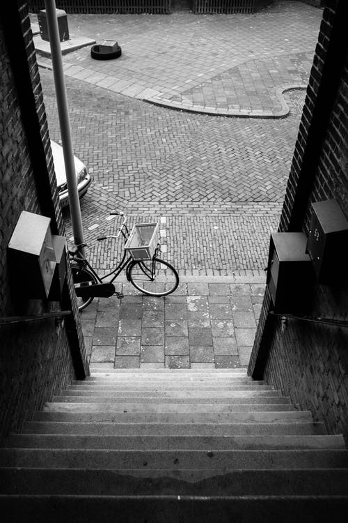 Free stock photo of bw, netherlands, stairs, vlaardingen