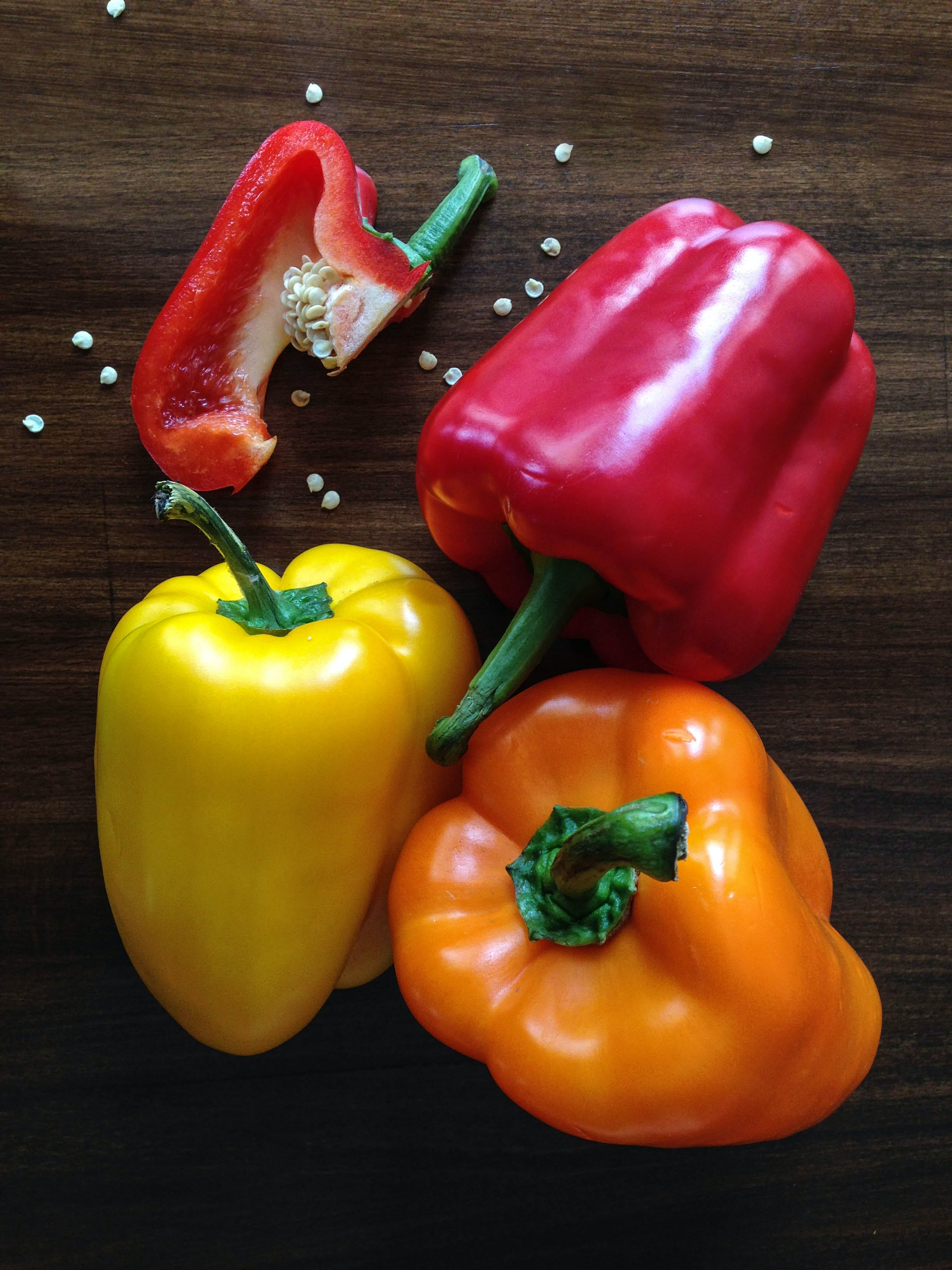 Free stock photo of food, healthy, vegetables, peppers