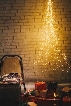 Christmas Presents on the Floor