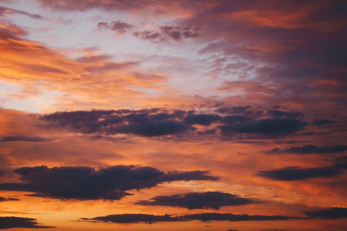 daggry, dramatisk, fredelig