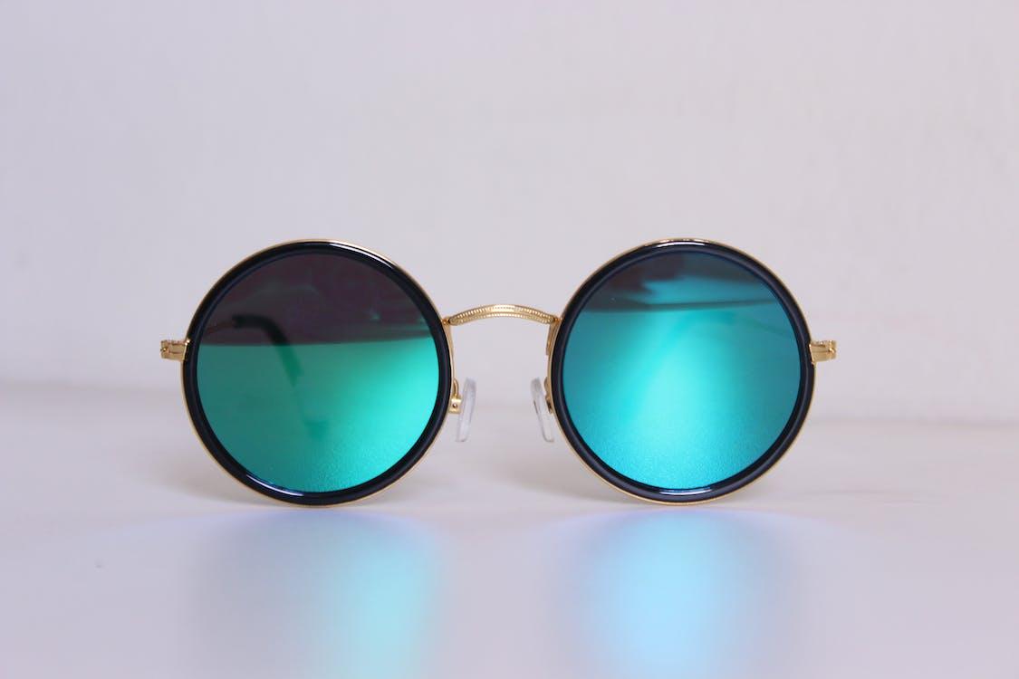 Gafas De Sol Hippie Con Montura Negra