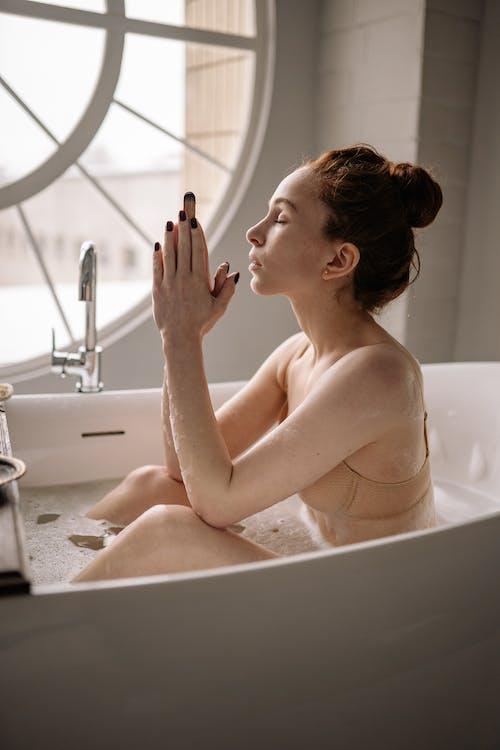 A Woman in the Bathtub