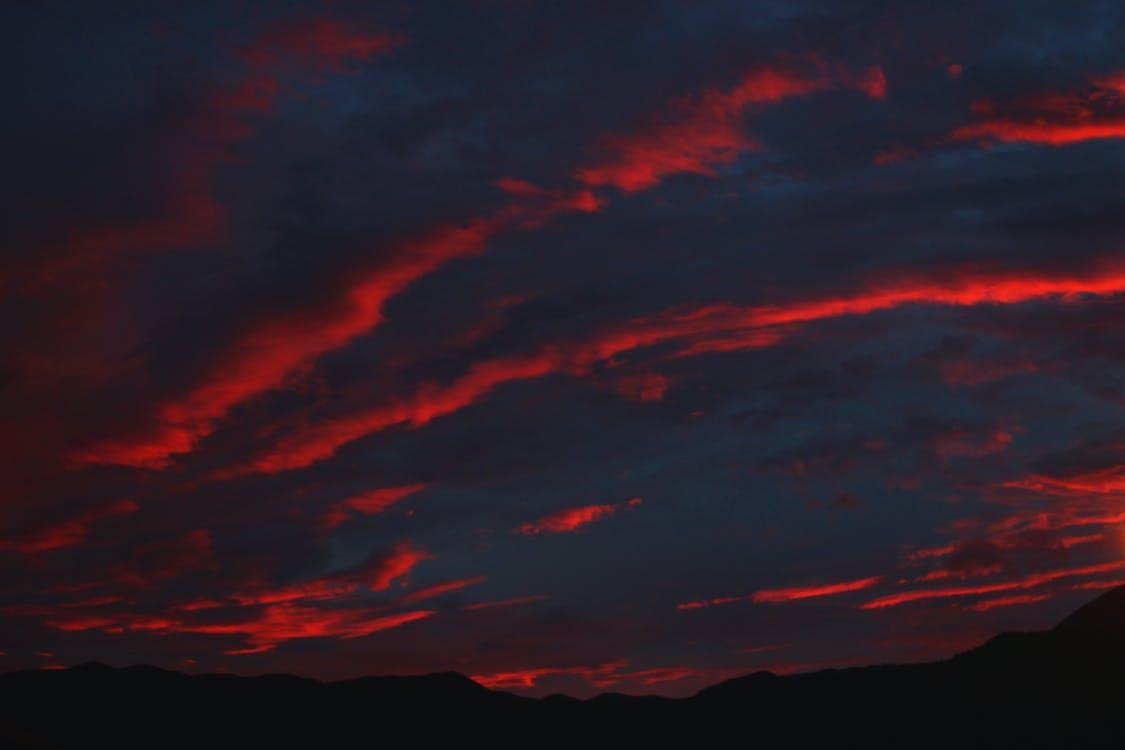 Free stock photo of red sky, sky, sunset