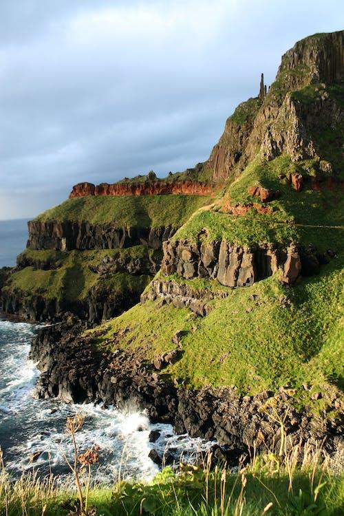 Free stock photo of coast, giant's causeway, green