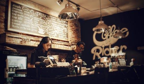 人, 僱員, 出納員, 咖啡 的 免費圖庫相片