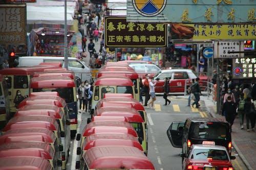 Fotos de stock gratuitas de calle, Hong Kong, microbús
