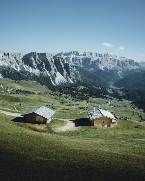 Free stock photo of bungalow, chalet, countryside
