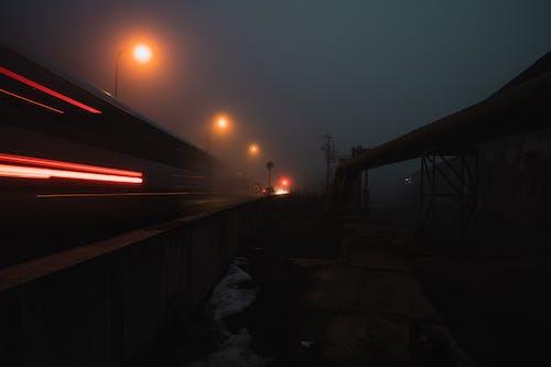 Gratis arkivbilde med bro, daggry, fotografi
