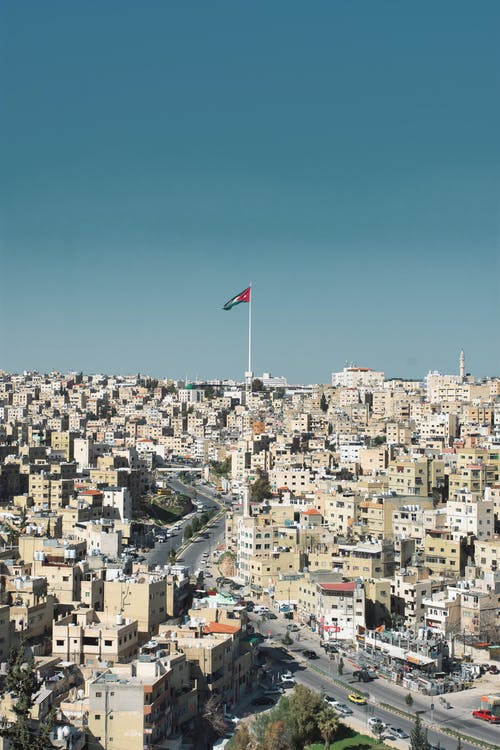 Free stock photo of aerial, amman, amman citadel