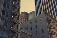 city, houses, buildings