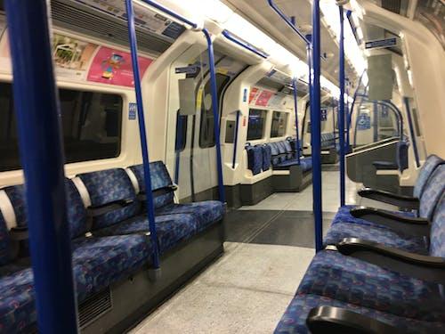 Free stock photo of empty carriage, lockdo, london