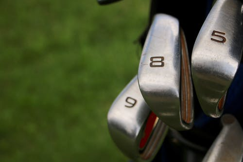 Free stock photo of Up close and candid with clubs
